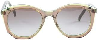 Marni Green Plastic Sunglasses