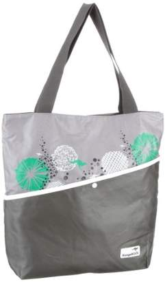 KangaROOS Womens MILA tote medium Shopper Gray Grau (charcoal) Size: