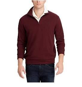 Polo Ralph Lauren Long Sleeve Double Knit Half Zip Pullover