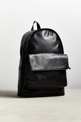 Urban Outfitters Faux Leather Flap Pocket Backpack
