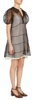Chloé Puff-Sleeve Dress