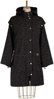Proenza Schouler Pswl Leopard print coat
