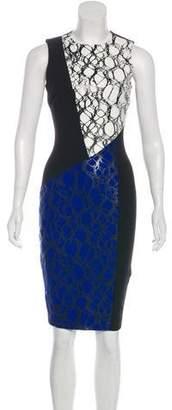 Elizabeth and James Printed Midi Dress