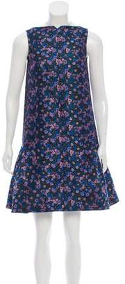 Araks Floral Jacquard Dress