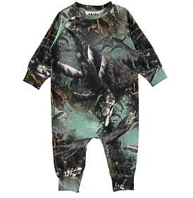 """Molo Lake Monster"""" Baby Boy Romper (3Months-2Years)"""