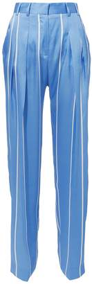 Victoria Beckham Victoria, Striped Front Pleat Suiting Pants
