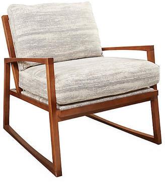 One Kings Lane Markus Chair - Gray Tweed