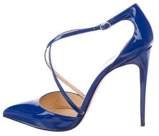 9621ce67a629 Pre-Owned at TheRealReal · Christian Louboutin Pointed-Toe Patent Leather  Pumps