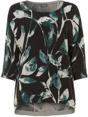 Phase Eight Lilliana Leaf Print Knit