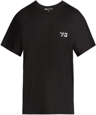 Y-3 M Signature cotton T-shirt