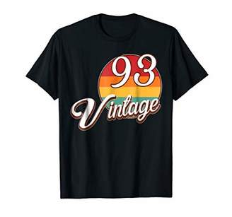 Retro Vintage 1993 T-Shirt 25 Years Old 25rd Birthday Gift