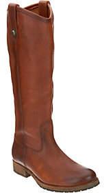 Frye Leather Tall Shaft Pull On Boots - MelissaLug