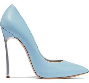 Casadei Blade Leather Pumps