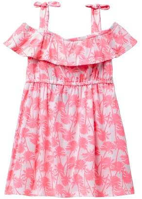 Appaman Cornado Off the Shoulder Palm Tree Dress (Toddler, Little Girls, & Big Girls)