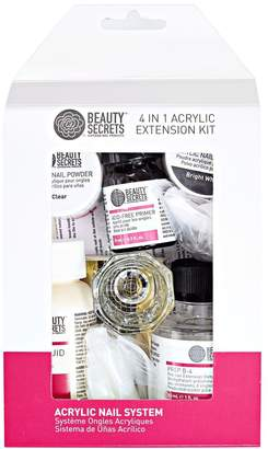 Beauty Secrets 4 in 1 Nail Extension Kit