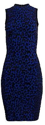 Milly Women's Cheetah Print Bodycon Dress