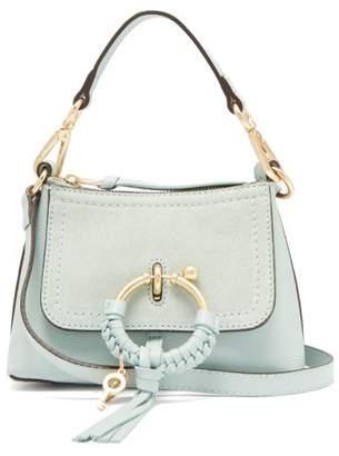 e2ce5d70961a2 See by Chloe Joan Mini Leather Cross Body Bag - Womens - Light Blue