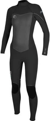 O'Neill Flair Zen Zip 4/3 Full Wetsuit - Women's