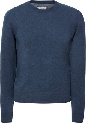 Maison Margiela Paneled Wool And Cotton-Blend Sweater