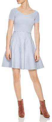 Sandro Meissa Fit-and-Flare Dress