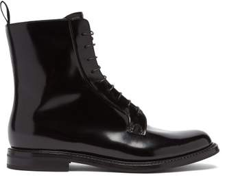 Church's Alexandra Leather Boots - Womens - Black