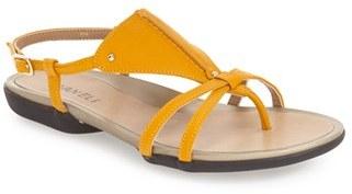 Women's Vaneli 'Whoopi' Flat Sandal $129.95 thestylecure.com