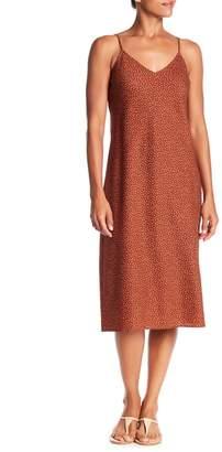 Vince Celestial Polka Dot Silk Blend Dress