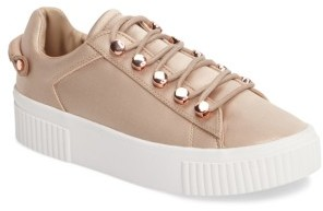 Women's Kendall + Kylie Rae 3 Platform Sneaker $134.95 thestylecure.com