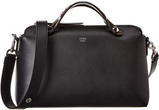 Fendi By The Way Leather Boston Bag
