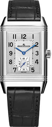 Jaeger-LeCoultre Jaeger Le Coultre Q3848420 Reverso Classic duoface stainless steel and alligator leather watch