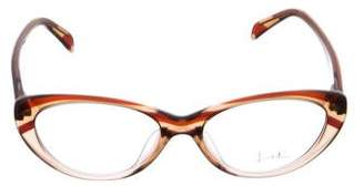 Emilio Pucci Embellished Cat-Eye Eyeglasses