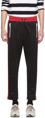 Diesel Black and Red P-Russi Lounge Pants