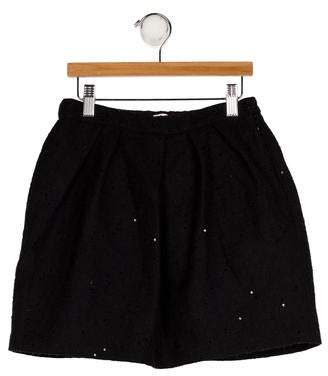 Il Gufo Girls' Wool-Blend Skirt