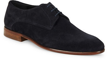 Hugo Boss Hugo Boss Suede Lace-Up Oxfords