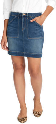 Vineyard Vines Made in the USA Utility Pocket Denim Skirt