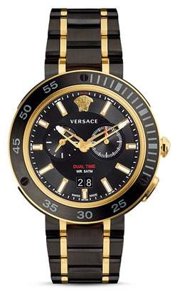 Versace V-Extreme Pro Stainless Steel Chronograph, 46mm