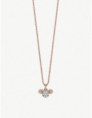 Rosegold The Alkemistry Kismet By Milka Aries 14ct rose-gold and diamond necklace