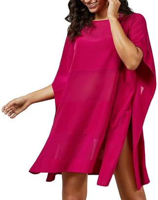 Ted Baker Evve Paneled Poncho-Style Swim Cover-Up