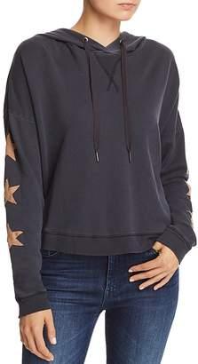 Rails Turner Star-Sleeve Hooded Sweatshirt