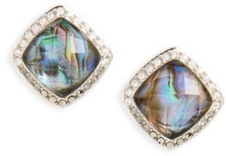 Women's Judith Jack Tropical Touches Doublet Stud Earrings $90 thestylecure.com