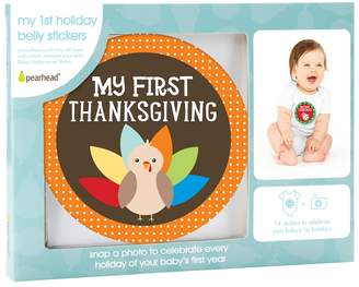 Pearhead Baby My 1st Holiday Belly Stickers