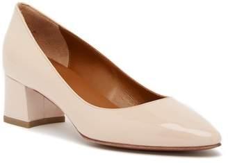 Aquatalia Phoebe Weatherproof Leather Almond Toe Pump