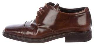 Barneys New York Barney's New York Cap-Toe Derby Shoes