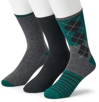 Børn Men's 3-pack Performance Boot Socks