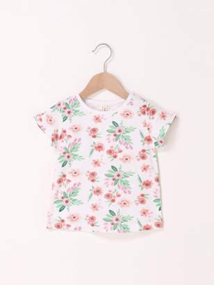 LAGOM (ラーゴム) - Samansa Mos2 Lagom フラワープリントTシャツ
