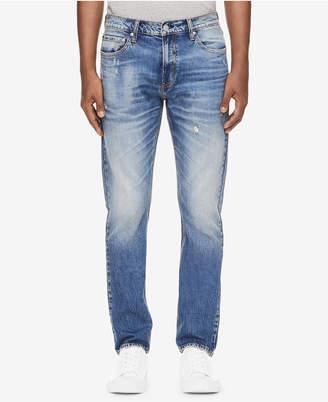Calvin Klein Jeans Men's Blizzard Blue Slim-Fit Jeans Ck 026