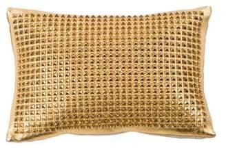 Maison de Vacances Studded Leather Throw Pillow
