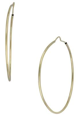 Bony Levy 14K Yellow Gold 40mm Ultra Thin Hoop Earrings