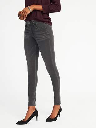 Old Navy Mid-Rise Built-In Warm Rockstar Jeans for Women