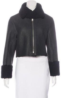 Yeezy Season 3 Shearling Jacket $800 thestylecure.com